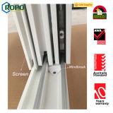 Окно PVC нового типа сползая с неясным стеклом для ванной комнаты