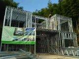 機械を形作る軽い鋼鉄構築