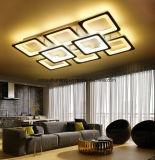 Luzes de teto modernas acrílicas Ultrathin do diodo emissor de luz para a lâmpada do teto da sala de visitas decorativa