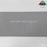 32mm und 38mm silbernes Grau-kleine Welle und Microgroove Webart-Nylon-gewebtes Material