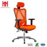 2017普及した黒い最高背部金属の旋回装置の執行部の椅子