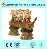 Handige de Decoratie van uitstekende kwaliteit van de Tuin en het Beeldhouwwerk van Zeven Dwergen