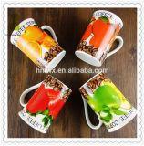Tipo tazas de cerámica de Drinkware de 11oz con diseño de la fruta
