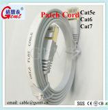 Cat5 Cat5e CAT6 Netz-Kabel-Steckschnür-Kabel der Katze-6A Cat7 flaches mit Kabel der Änderung- am ObjektprogrammRJ45