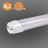 UL u. Dlc anerkanntes T8 LED Gefäß, Vorschaltgerät kompatibel