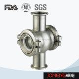 Vidrio de vista embridado higiénico del acero inoxidable (JN-SG2007)