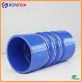 tubo flessibile della gomma di silicone della gobba 4ply con 3 anelli d'acciaio per automobilistico