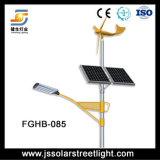 Luz de rua híbrida solar do vento fresco do branco 60W