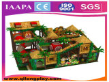 Campo de jogos macio interno das crianças do tema da floresta (QL-1111B)