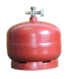 Haus verwendete Ansun Zylinder-Schweißens-Gas-Flasche