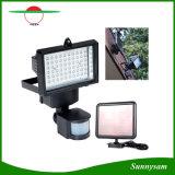 Indicatore luminoso Emergency fissato al muro alimentato solare della lampada dell'indicatore luminoso di inondazione del sensore di movimento dell'indicatore luminoso di obbligazione dei 60 LED LED