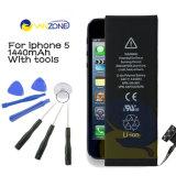 Batería de los accesorios del teléfono móvil para el iPhone 5