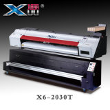 Stampante di Xuli DTG - 1.8m formato largo della testina di stampa due Ep5113 direttamente alla stampante dell'indumento per la bandiera dei tessuti cachi/della bandierina