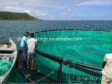 Gaiola líquida da piscicultura do HDPE da alta qualidade para o cultivo do Tilapia