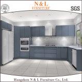 N&L現代光沢度の高いMDFのラッカー食器棚