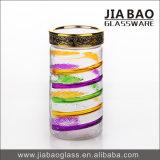 1400mlマルチ使用法のスプレーカラーソーダライムの円形のガラスビン