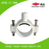 Abrazadera plástica de las aguas residuales para los tubos del PE