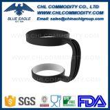 Suporte Eco-Friendly plástico da caneca da cor preta para a promoção