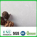 カスタム真珠のダイニングテーブルの上のための白い水晶石の平板