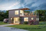 20 Fuß Stahlkonstruktion-vorfabrizierter Behälter-Luxuxhaus-