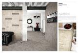 Diseño caliente de la venta del buen de la dureza de la mirada del cemento de agua inferior de la absorción de la porcelana del piso no resbaladizo azulejo rústico del azulejo