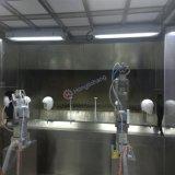로봇 헬멧을%s 먼지가 없는 자동적인 색칠 부스