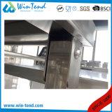 Tabella di lavoro pieghevole del tubo del quadrato dell'acciaio inossidabile con il piedino registrabile di altezza per trasporto
