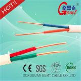 Câble cuivre plat de câble parallèle