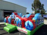 Heiße Verkaufs-aufblasbare Seewelttier-kombinierter Prahler und Plättchen für Kinder