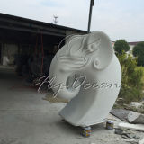 Scultura decorativa della vetroresina di alta qualità del giardino Fo-Fs004 di Elephent