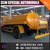 El tanque vendedor caliente del transporte del camión del agua del carro de petrolero de la bomba de agua 2600gal