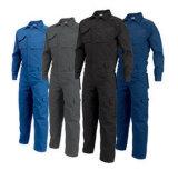 De klassieke Veiligheid van Workwear van de Veiligheid 100% Katoenen Rood Overtrek van de Slab