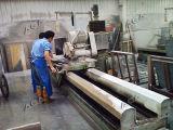 45の刃の傾くことを用いる石造りの端の側面の打抜き機(QB600)