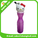 Itens vendidos personalizados Logotipo Plastic Water Drink Bottle