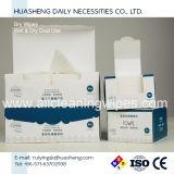 Toalhetes faciais descartáveis de algodão para limpeza de pele para mulheres e bebês