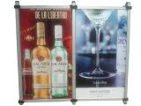 アルミニウム広告する展覧会のための急なフレームポスター立場オフィス