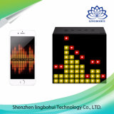 LED de luz Smart Lámpara Altavoces Bluetooth con control APP / reloj despertador