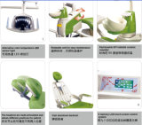 Silla dental Gd-S350 de los aparatos médicos dentales de las fuentes de China