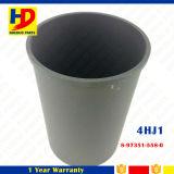 OEM de doublure de cylindre de la pièce de moteur d'excavatrice 4hj1 no (8-97351-558-0)