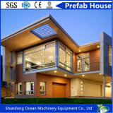 Da casa Prefab luxuosa do frame de aço da luz do baixo custo de China casa modular do móbil da casa