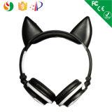 Do estilo portátil da dobra da cor auriculares sem fio estereofónicos personalizados com cabo auxiliar 3.5mm