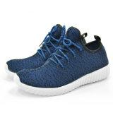 Chaussure de course occasionnelle avec la semelle supérieure et confortable respirable de Flyknit de DM (zapatos)