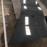 Punti grigi scuri Polished del granito nella figura dell'arco (G654)