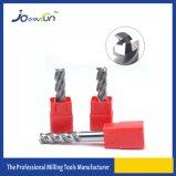 Herramienta sólida de Cuuting de la máquina del CNC de las flautas del carburo 3 para la aleación de Alumium