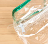 Saco transparente plástico da lavagem do banho do PVC