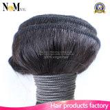 El pelo suministra el pelo garantizado el 100% de las muestras libres del pelo de la Virgen (QB-MVRH-LW)
