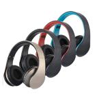 La ranura para tarjeta micro 4 de FM MP3 SD en 1 receptor de cabeza estéreo W/Mic de Digitaces Bluetooth EDR de los auriculares sin hilos de Bluetooth se divierte los auriculares del juego para los teléfonos elegantes