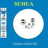 5.556mm 7/32 de '' de esfera contínua G25 da esfera do carboneto tungstênio