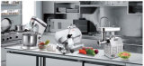 2016 상업적인 고품질 자동 장전식 고기 저미는 기계
