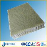 Panneaux de nid d'abeilles de fibre de verre de surface approximative pour la feuille en pierre de Composited